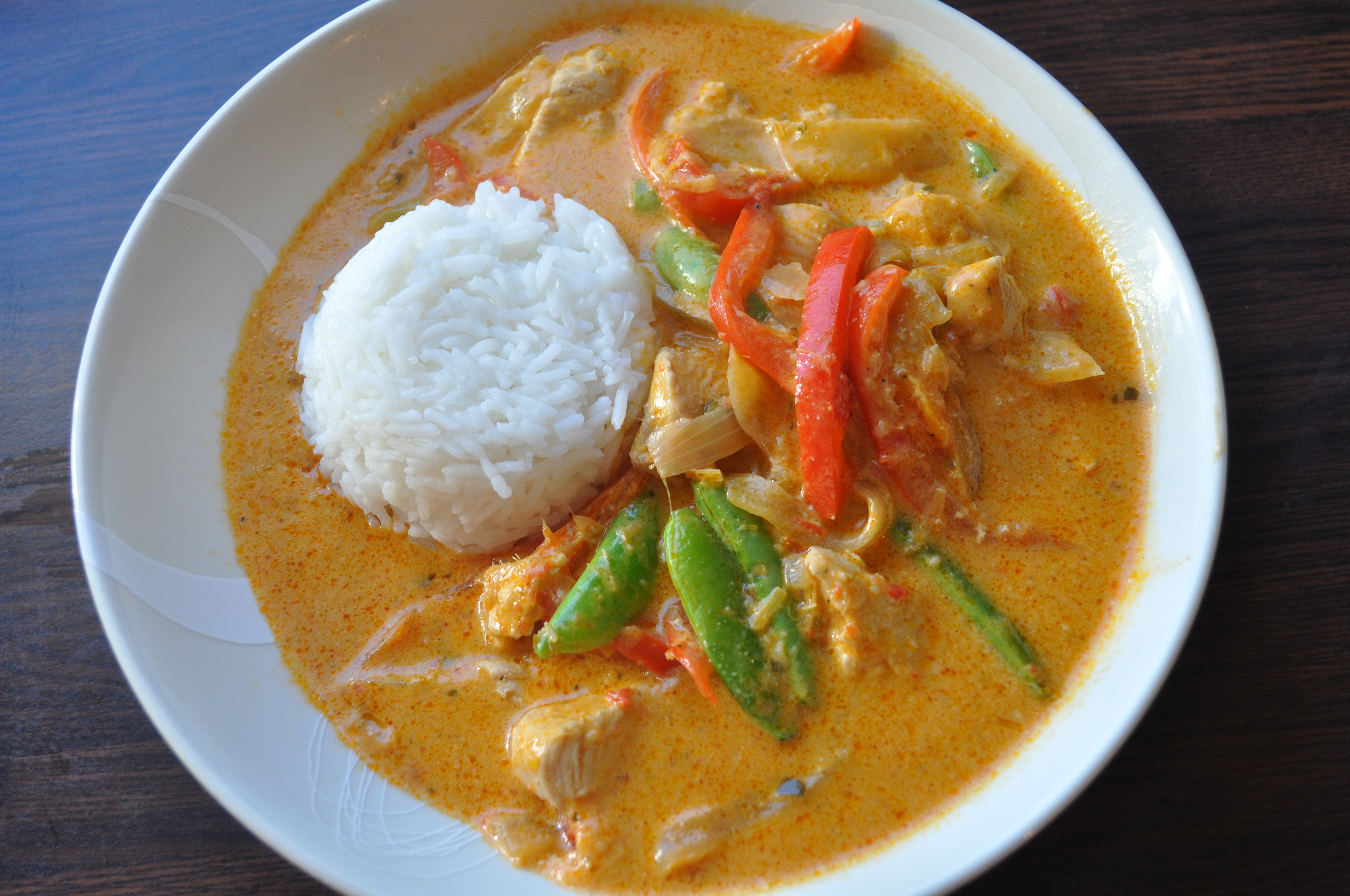 Thai Red Chicken Curry | A Cookbook Collection