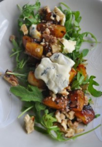 Warm Pear, Walnut & Blue Cheese Salad - A Cookbook collection