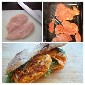 Harissa Chicken Ciabatta 2