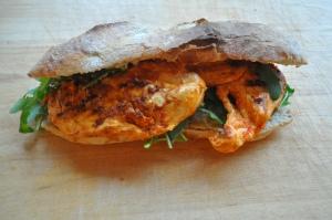 Harissa Chicken Ciabatta