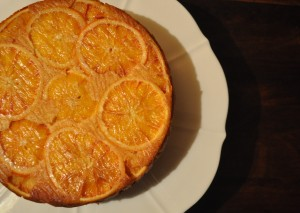 Blood Orange Cake 1- A Cookbook Collection