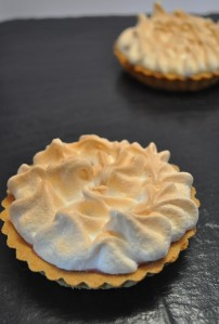 Individual Orange Meringue Pies - A Cookbook Collection