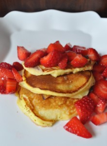 Ricotta Pancakes - A Cookbook Collection