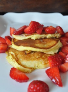 Ricotta Pancakes-A Cookbook Collection