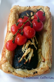 Black Pudding Tart - A Cookbook Collection