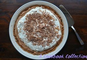 Chocolate Silk Pie - A Cookbook Collection 1