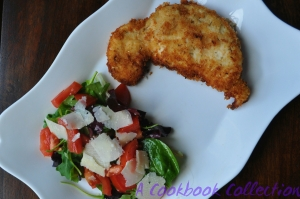 Crispy Chicken Cutlets - A Cookbook Collection