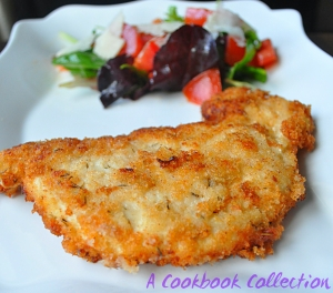 Crispy Chicken Cutlets -A Cookbook Collection