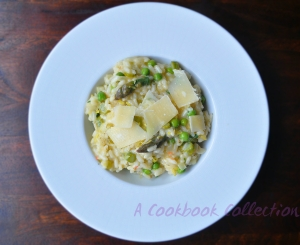 Asparagus and Lemon Risotto - A Cookbook Collection