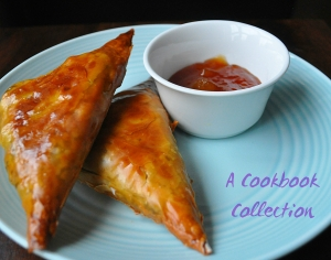Lamb and Pea Samosas - A Cookbook Collection