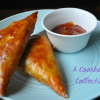 Lamb and Pea Samosas