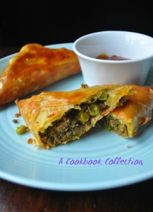 Lamb and Pea Samosas -A Cookbook Collection