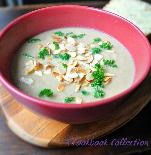 Cauliflower and Ras el Hanout Soup - A Cookbook Collection
