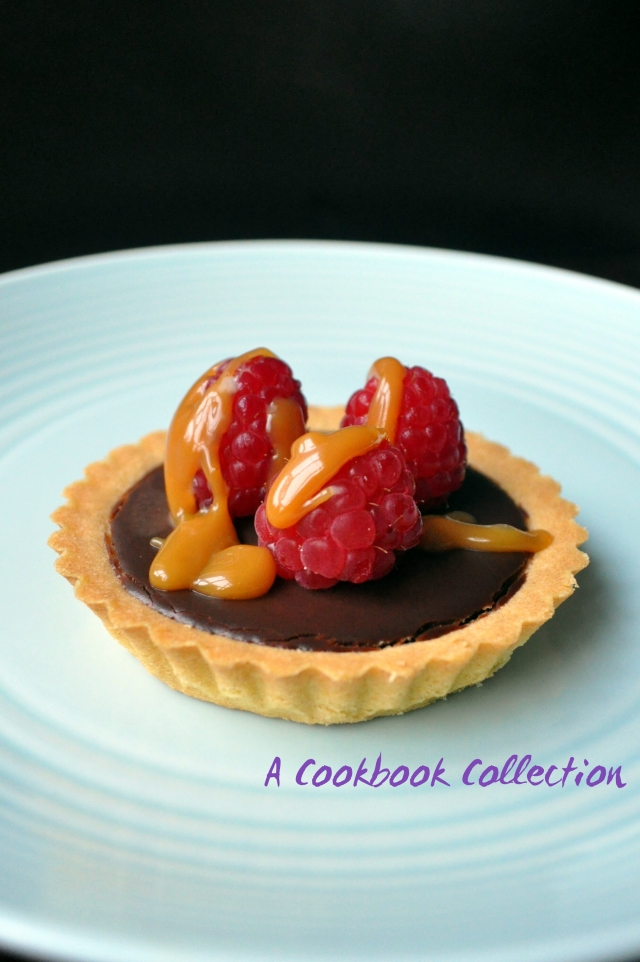 Chocolate Ganache Tarts - A Cookbook Collection 1