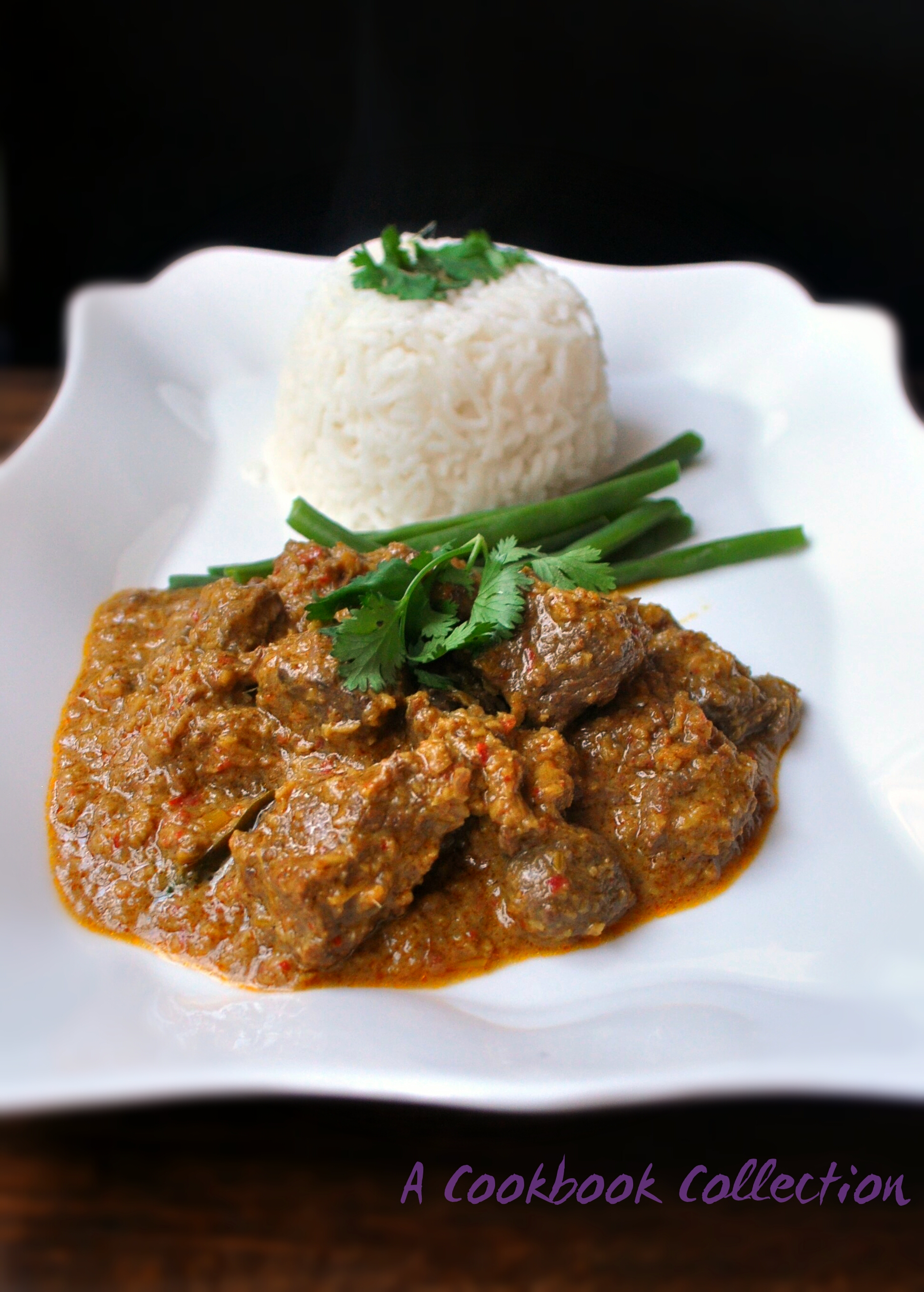 Beef Rendang - A Cookbook Collection