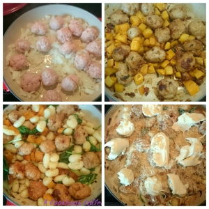 Sausage Butternut Squash and Gnocchi Bake - A Cookbook Collection 2