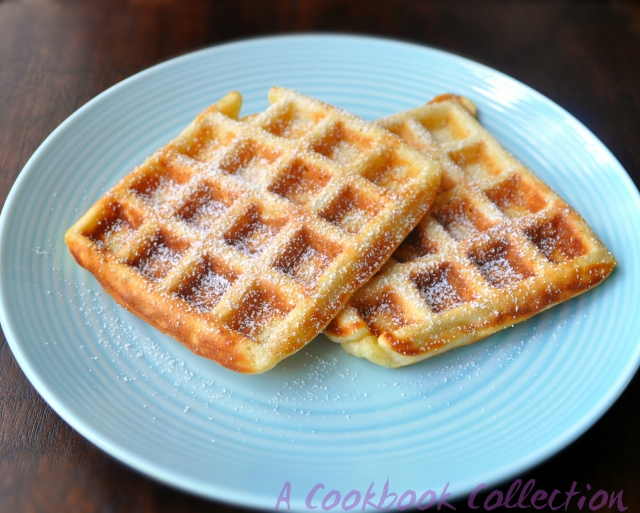 Waffles - A Cookbook Collection