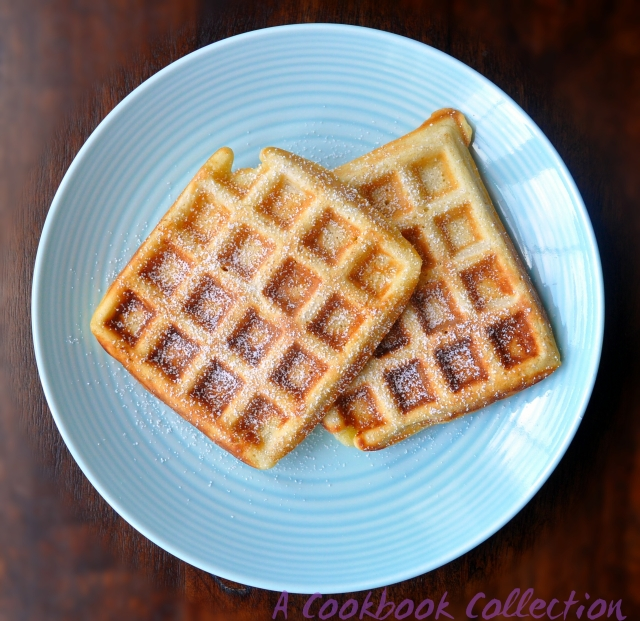 Waffles- A Cookbook Collection