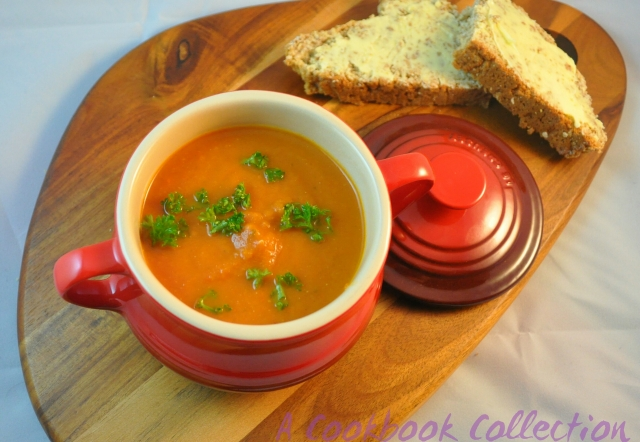 Roasted Tomato Soup - A Cookbook Collection