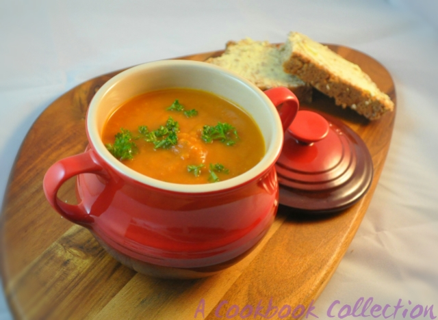 Roasted Tomato Soup -A Cookbook Collection