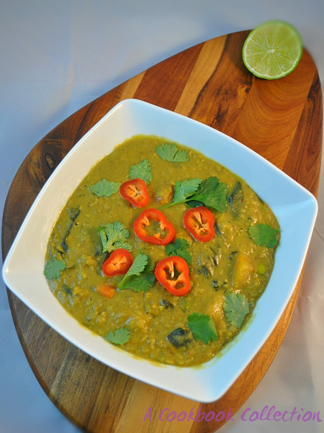 Malaysian Lentil Curry- A Cookbook Collection