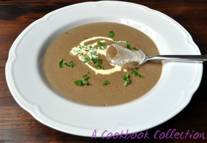 Creamy Mushroom Soup -A Cookbook Collection
