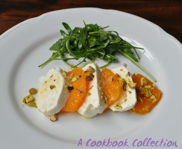 Mozzarella and Blood Orange Salad - A Cookbook Collection