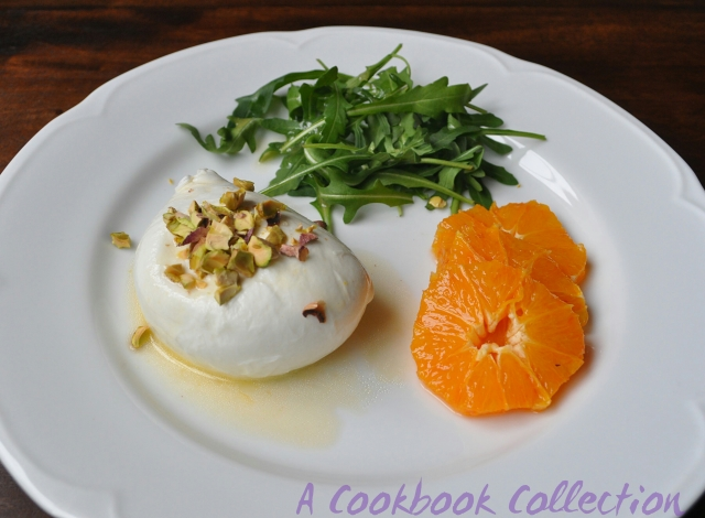 Mozzarella and Blood Orange Salad -A Cookbook Collection