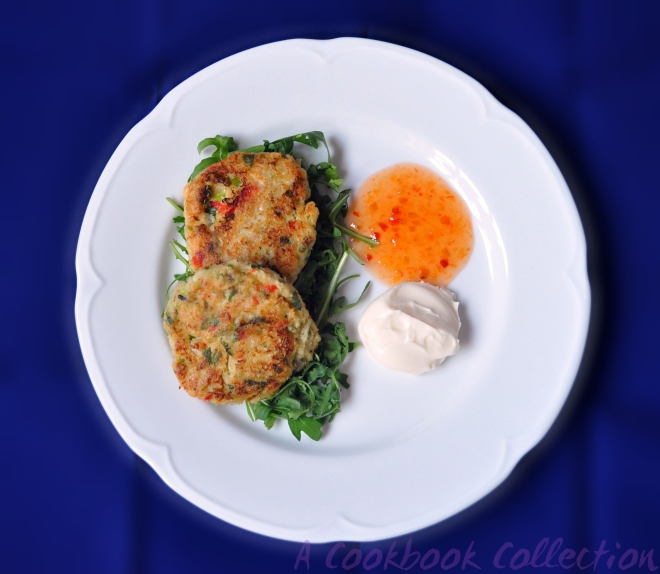 Zingy Crab Cakes -A Cookbook Collection