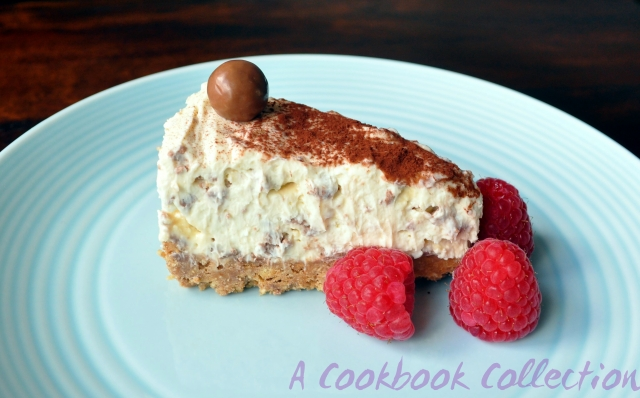 Malteser Cheesecake - A Cookbook Collection