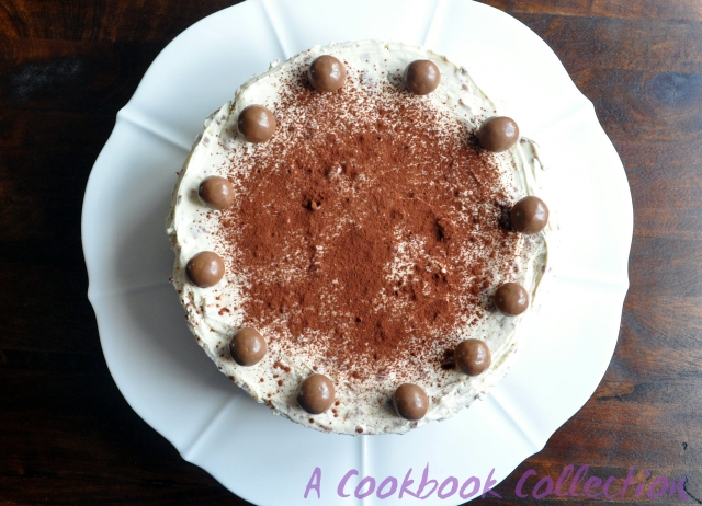 Malteser Cheesecake- A Cookbook Collection
