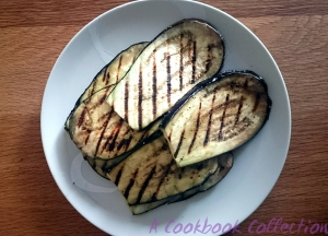 Grilled Aubergine - A Cookbook Collection