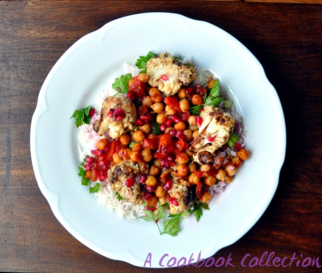Cauliflower and Chickpea Salad- A Cookbook Collection