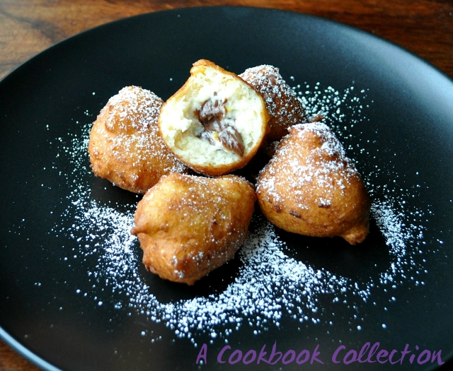 Mini Ricotta Doughnuts -A Cookbook Collection