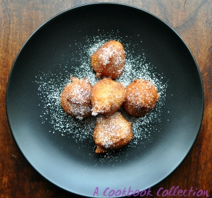Mini Ricotta Doughnuts-A Cookbook Collection