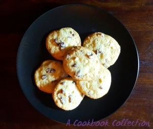 Orange Cranberry and White Chocolate Cookies - A Cookbook Collection
